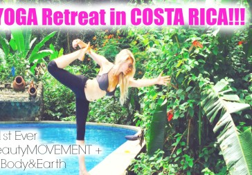 OUR 1ST YOGA RETREAT | COSTA RICA!